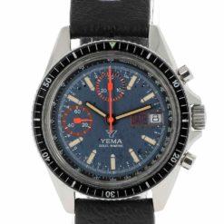 montre bracelet Yema chrono sous marine cadran