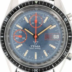 montre bracelet Yema chrono sous marine cadran 3