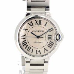 montre bracelet Cartier ballon bleu cadran