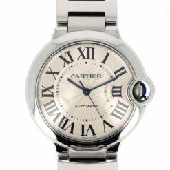 montre bracelet Cartier ballon bleu cadran 3