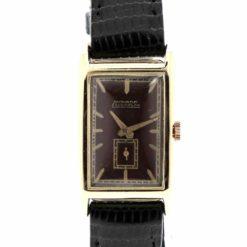 montre bracelet Movado curviplan cadran 2