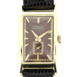 montre bracelet Movado curviplan cadran 3