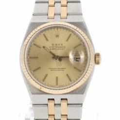 montre bracelet Rolex oyster quartz cadran 2