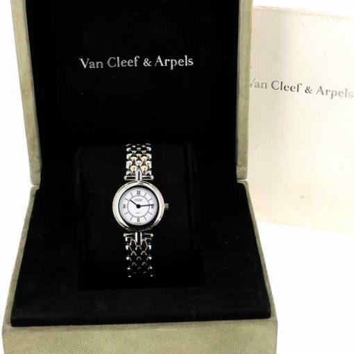 montre bracelet Van Cleef & Arpels la collection boîte