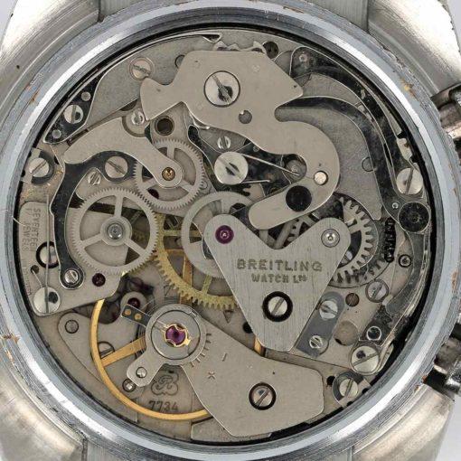 montre bracelet Breitling datora mouvement