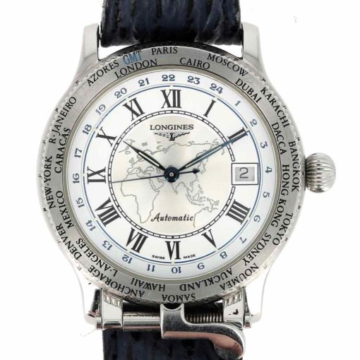 montre bracelet Longines pionniers cadran 3