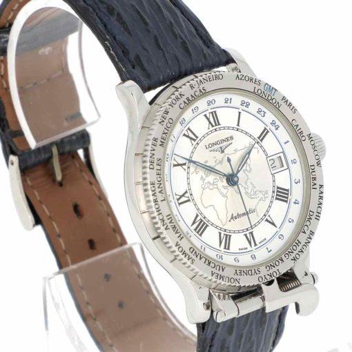 montre bracelet Longines pionniers lunette