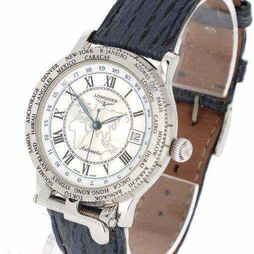 montre bracelet Longines pionniers remontoir