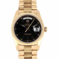 montre bracelet Rolex oyster perpetual day date cadran 2