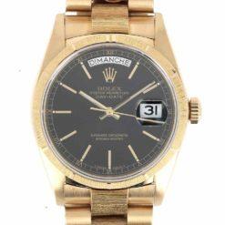 montre bracelet Rolex oyster perpetual day date cadran 3