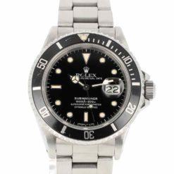 montre bracelet Rolex submariner 168000 cadran 2
