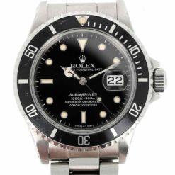 montre bracelet Rolex submariner 168000 cadran 3