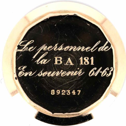 montre bracelet Zenith chronographe etanche fond 2