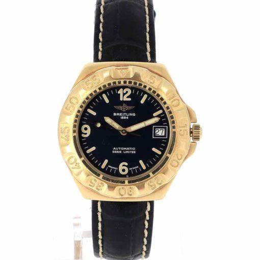 montre bracelet Breitling serie limitee cadran 2