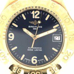 montre bracelet Breitling serie limitee cadran