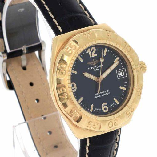 montre bracelet Breitling serie limitee lunette
