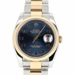 montre bracelet Rolex datejust 116203 cadran 3