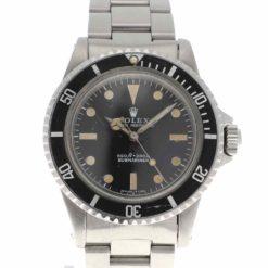 montre bracelet Rolex submariner 5513 cadran