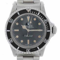 montre bracelet Rolex submariner 5513 cadran 3