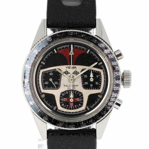 montre bracelet Yema rallygraph cadran 2