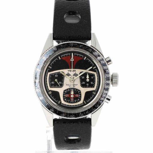 montre bracelet Yema rallygraph cadran