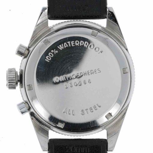 montre bracelet Yema rallygraph fond