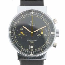 yema sous marine chronographe