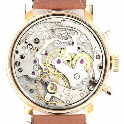 yema chronographe or mouvement