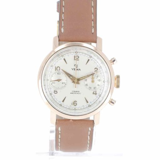 yema chronographe or montre