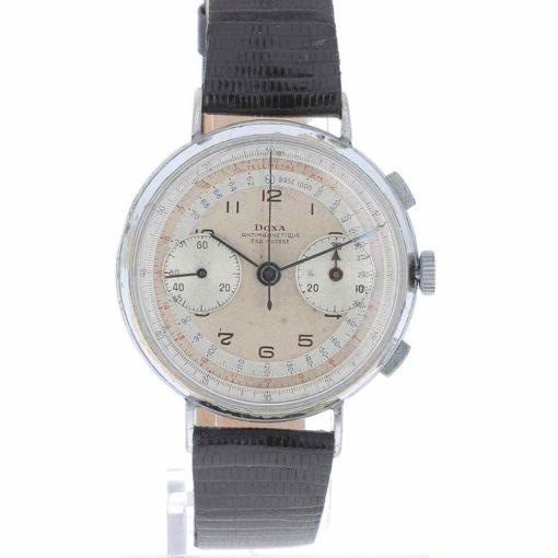doxa chronograph dial